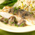 Filetes de pescado gratinados