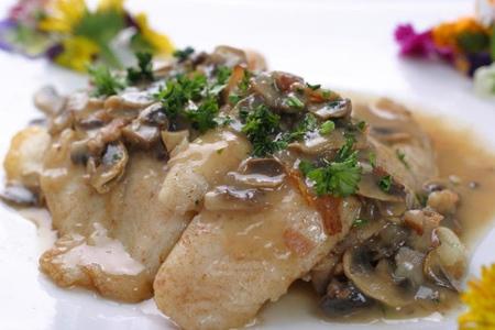 filetes pescado gratinados