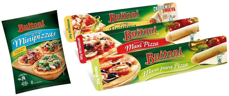 masas pizza buitoni