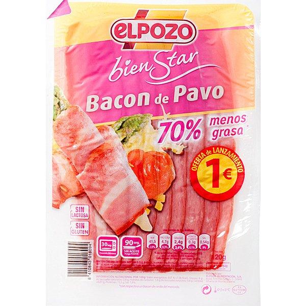 bacon pavo elpozo