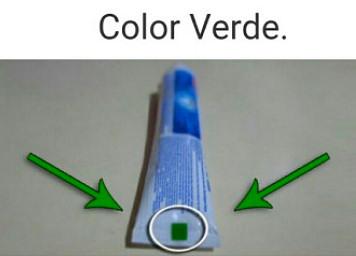 pasta dental verde
