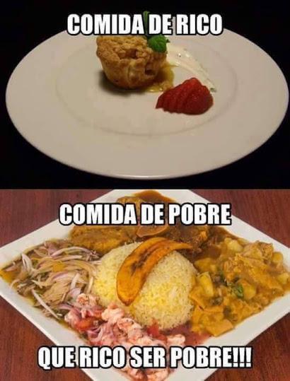 a comidas