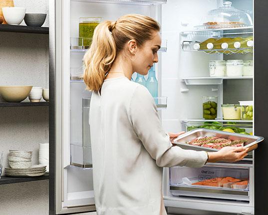 Samsung frigorifico chef collection