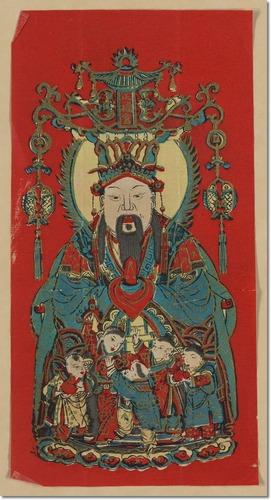 Tsao Chun dios cocina china