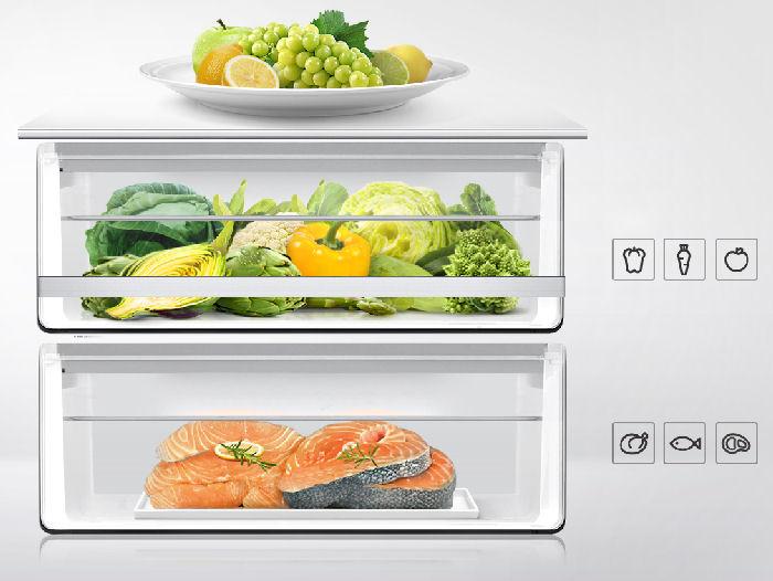 frigorifico samsung alimentos