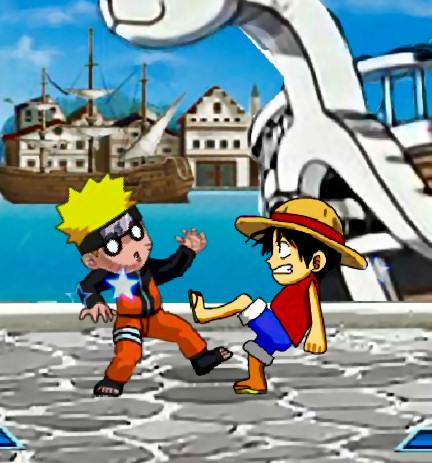 juego-lucha-luffy-naruto
