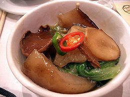 pepino mar cocina