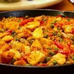 Receta de arroz con marisco Tamboril