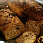 Pan de nueces y dátiles