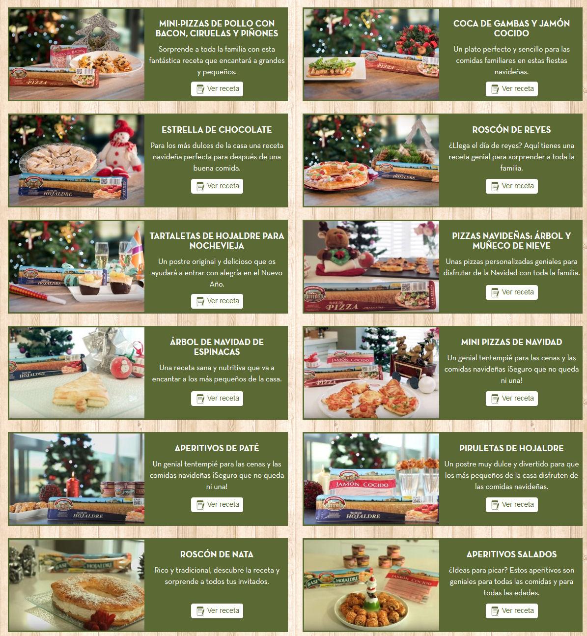 recetas navidad casa tarradellas