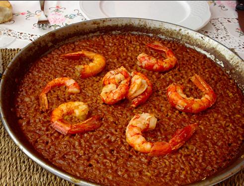 paella-arroz-carabineros-gambas