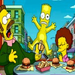 Juego de las letras del alfabeto Los Simpson
