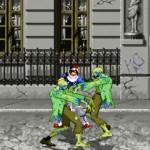Lucha ninja contra zombies