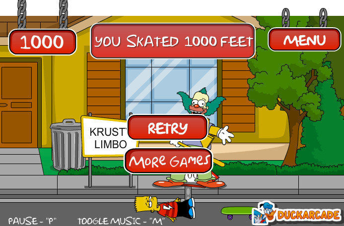 juego-bart-simpson-skaters