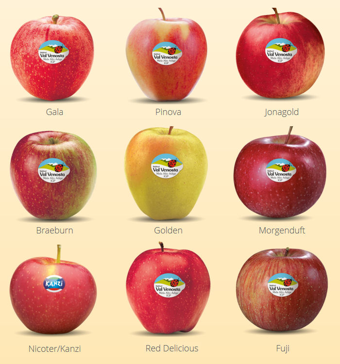 manzanas val venosta