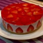 Receta de tarta fresa