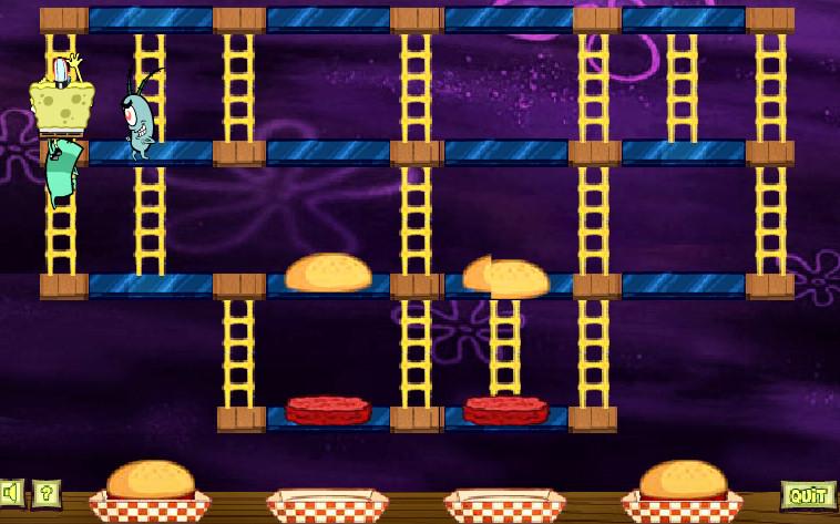 juego-bob-esponja-haciendo-cangre-burgers