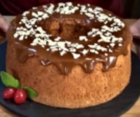 Vídeo receta de ángel food cake