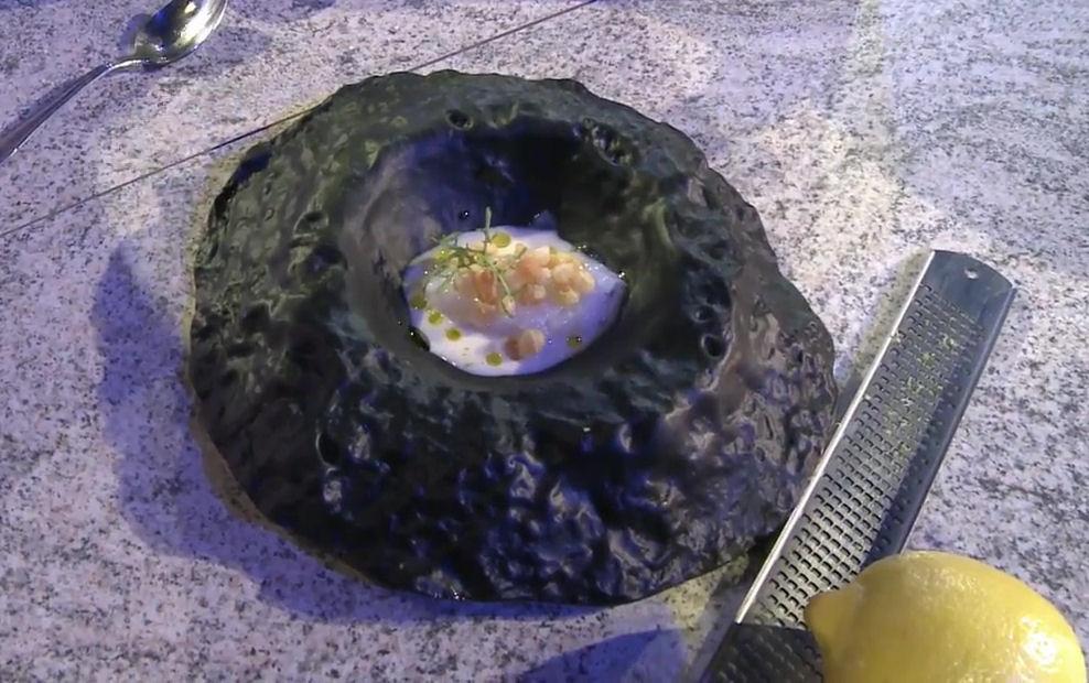 tartar calamar romana citricos