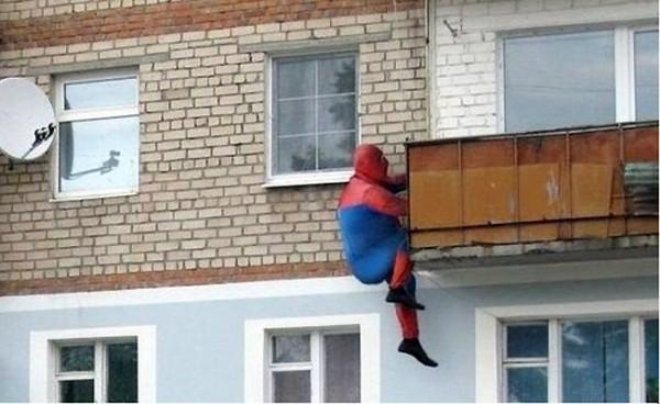 a b c spiderman