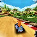 Juego de carreras de Crash Bandicoot