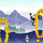 Juego de saltos con motocross