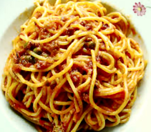 receta-espaguetis-pazziola