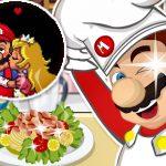 Juego cocinando con Mario