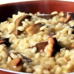 Receta de risotto con sepia, mejillones y setas