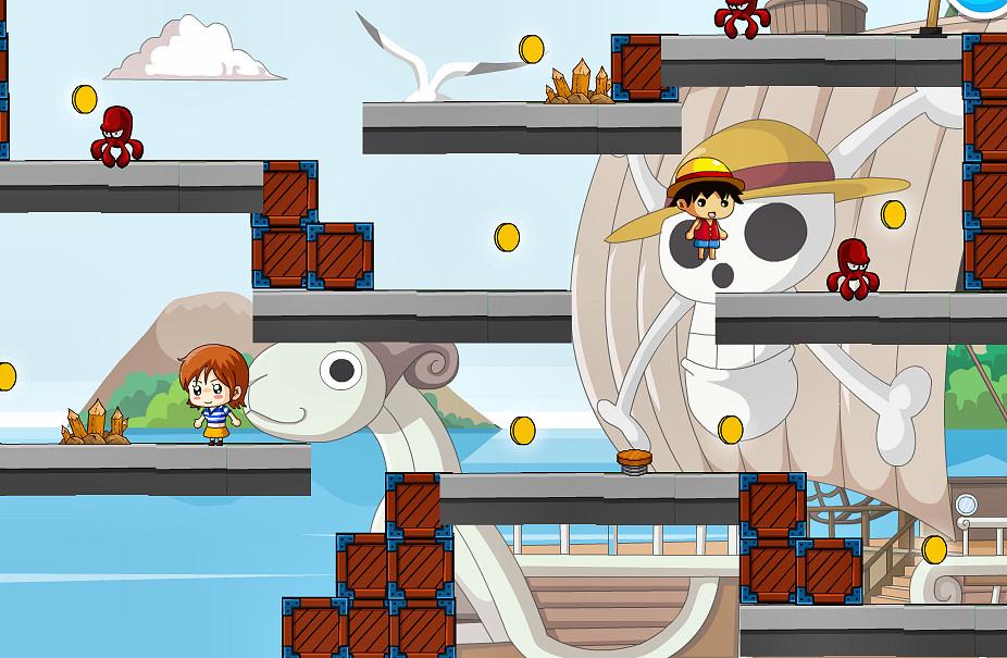 juego-multijugador-plataformas-one-piece