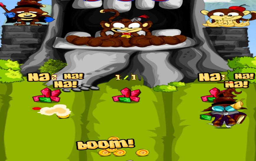 juego-punteria-templo-mono