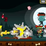 Juego de superviviente vs zombies