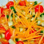 Receta de una ensalada sencilla