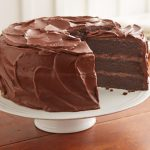 Receta con tarta de chocolate