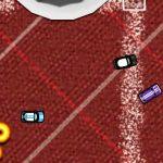 Juego de coches con carreras en miniatura