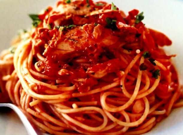 receta-casera-espaguetis-atun