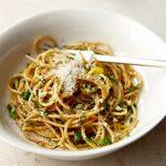 Espaguetis al gusto de especies