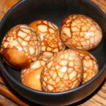 Receta halloween, huevos de dragones