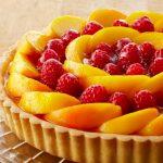 Tarta de frutas con base sencilla