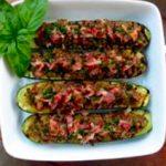 Sepia a la plancha con pisto de verduras