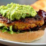 Hamburguesa de quinoa para veganos