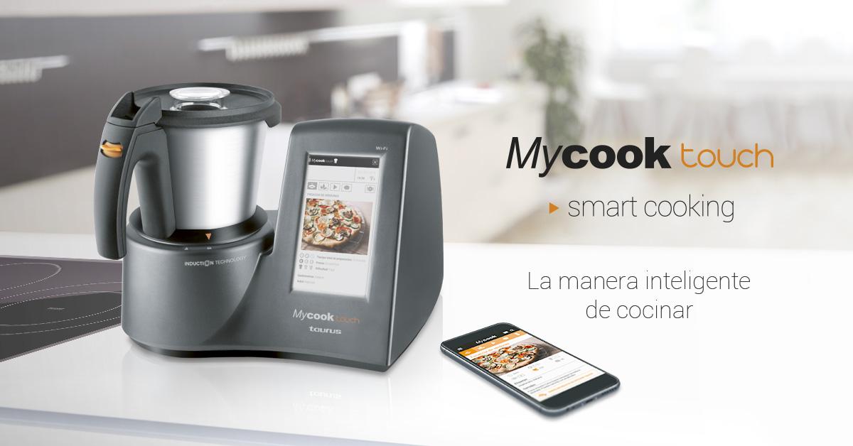 robot cocina pantalla