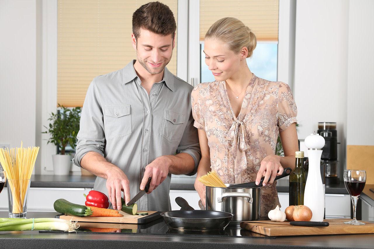 cocina pareja