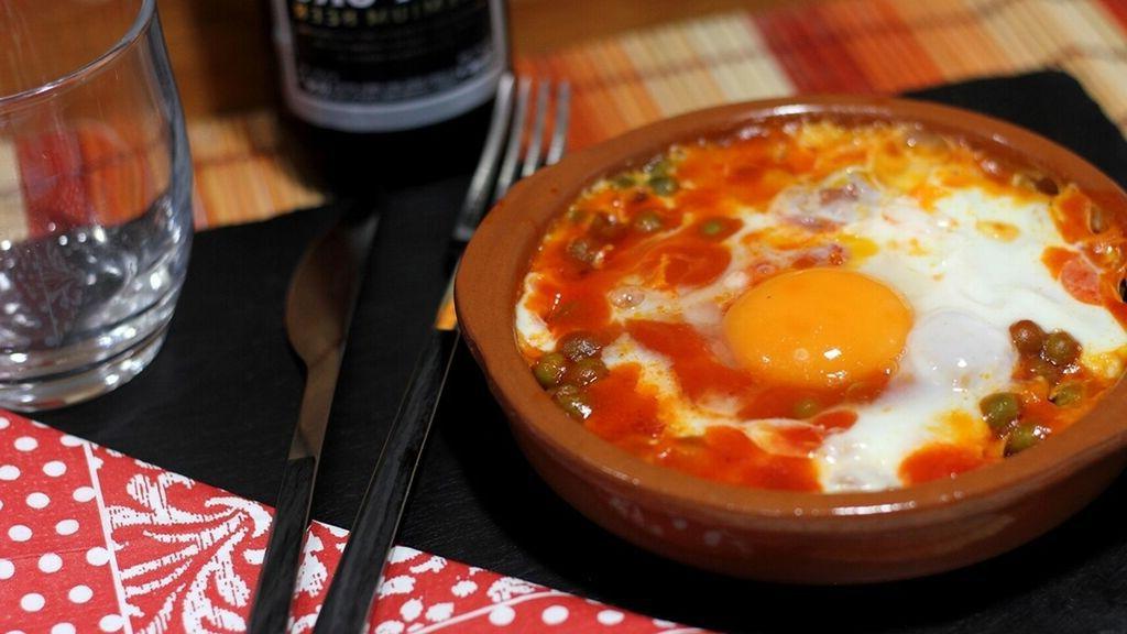 huevos plato microondas