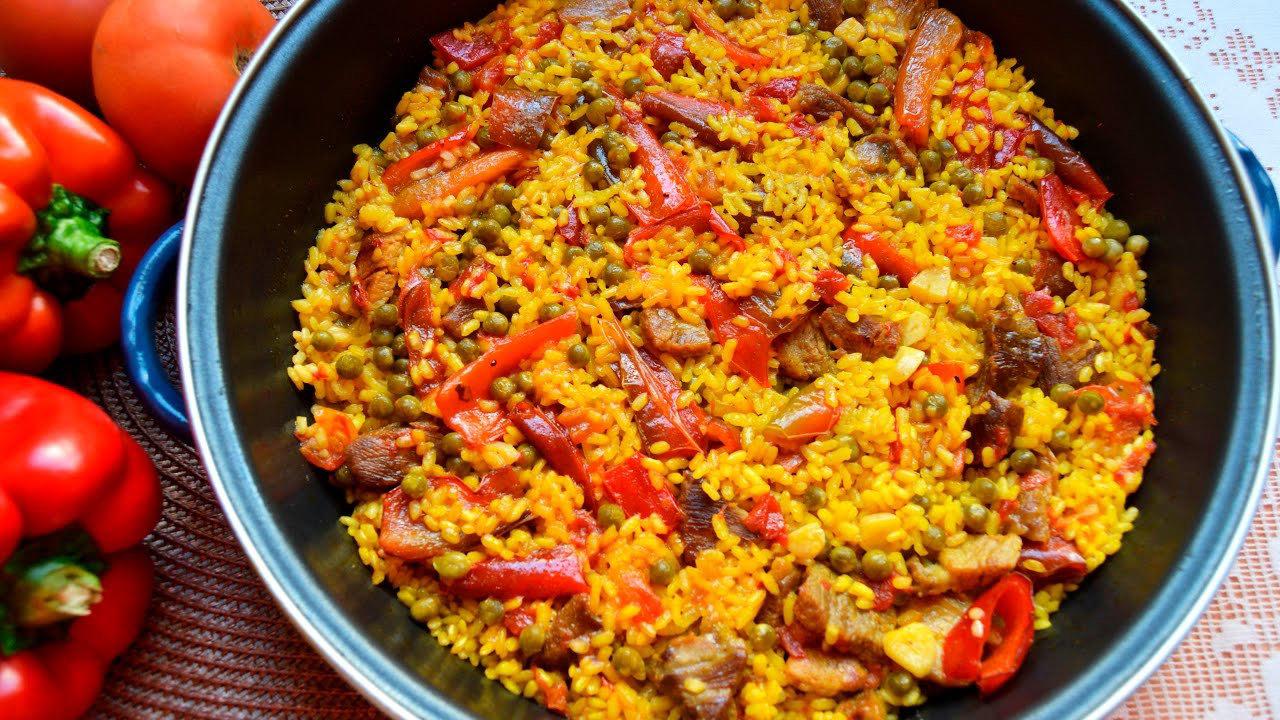 arroz verduras murciano