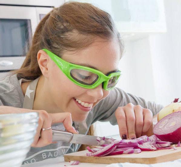 cortar cebolla gafas