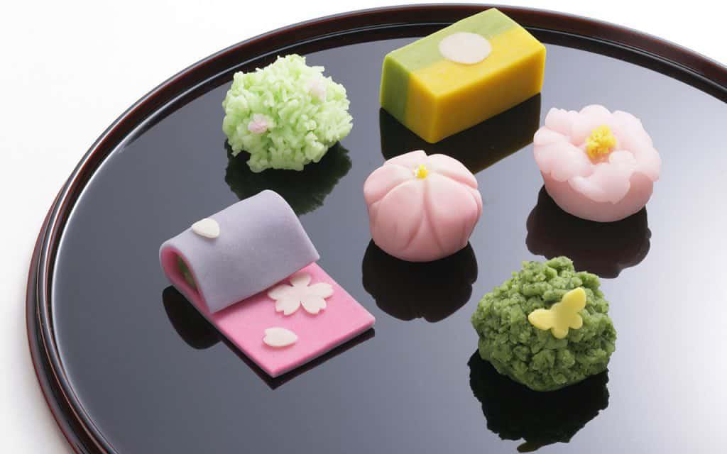 wagashi dulces japoneses