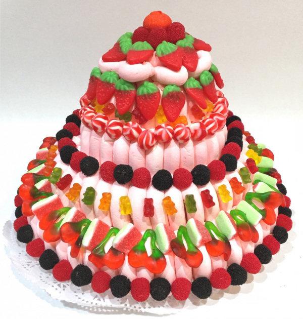como hacer tarta chuches