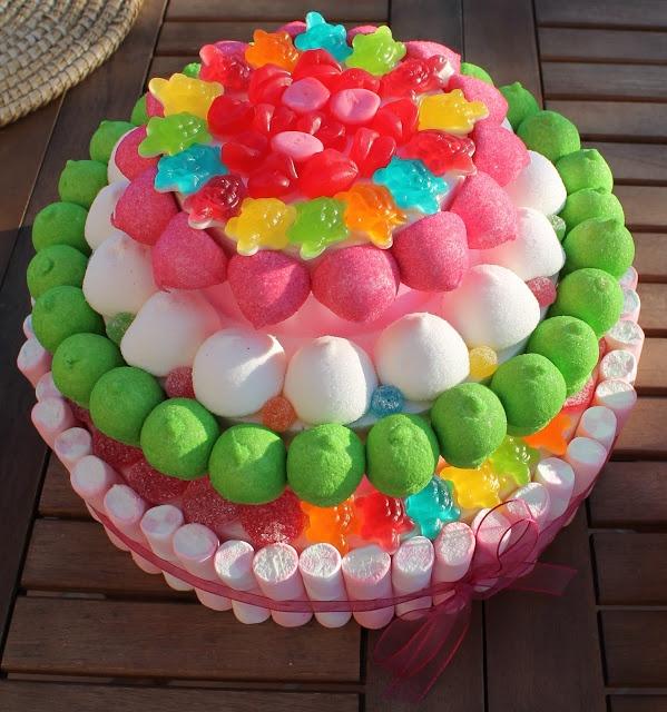 tarta chuches dulces