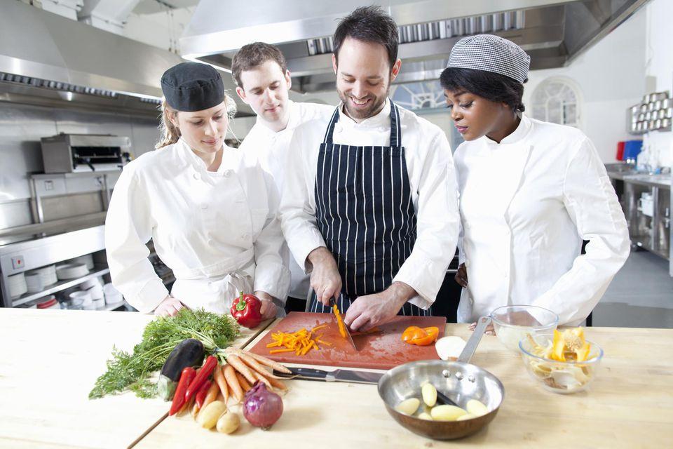 profesor cocina
